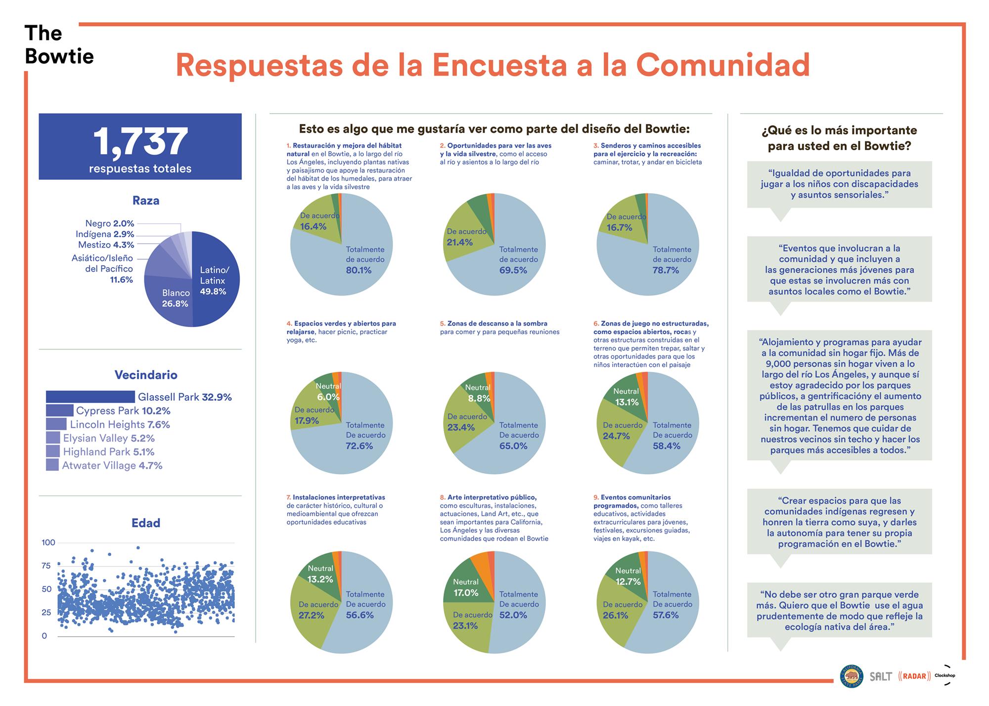 Bowtie Survey Responses - Spanish